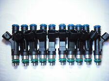 Set of 10 Flow Matched Refurbished Fuel Injectors # 0280158064 Ford Bosch