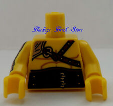 NEW Lego Minifig WRESTLERS WWE YELLOW TORSO - Lot of 1