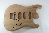 Mahogany HSS guitar body -fits Fender Strat Stratocaster neck Floyd Rose P669