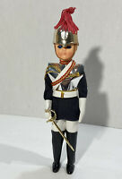 Vintage Royal Guard Plastic Doll With Sleepy Rolling Eyes
