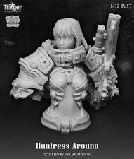 Nutsplanet Trigger Huntress Arouna Unpainted 1/12th scale bust kit