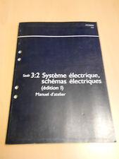 SAAB 9.5 système électrique schémas électriques 2002 édition 1