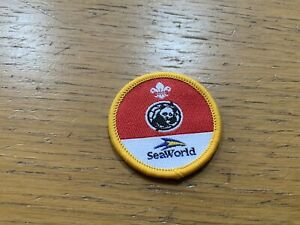 Scout Cub World Conservation Sponsored Badge