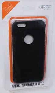 iPhone 6 Black Phone Case Protective Cover Silicon Plastic Shell New Urge Basics