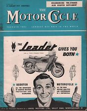 The Motor Cycle January 22 1959 The Leader, Decarbonizing Two Strokes 071717DBE