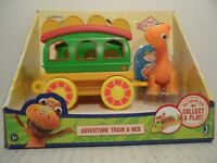 Jim Henson's Dinosaur Train Adventure Train & Ned Playset New in Package!