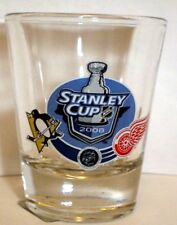 DETROIT RED WINGS vs PITTSBURGH PENGUINS 2008 STANLEY CUP finals SHOT GLASS