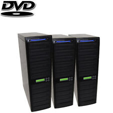 30 SATA Disc Burner - Daisy Chain Duplicator - Multiple CD DVD RW Copier + HDD