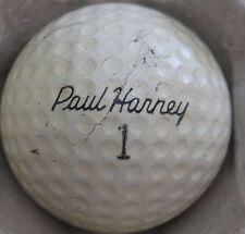 (1) Paul Harney Signature Logo Golf Ball (Kroydon Liq Ctr Cir 1964) #1
