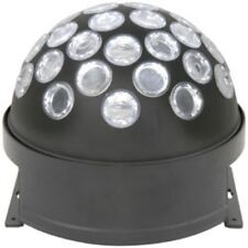 New QTX Light 3W White LED Fireball Beam Mirror Ball DJ Disco Lighting Effect