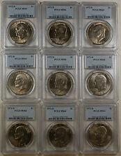 1972-D Eisenhower Ike Dollar Coin, PCGS MS-64, From Lot *Read Description*