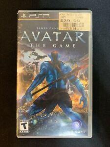 Jame's Cameron Avatar The Game (Sony PSP) CIB Tested