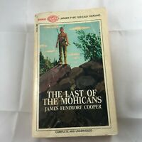 The Last of the Mohicans by J. FENIMORE COOPER Vintage 1968 PB