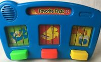1995 Mattel See N' Say And the Favorite First Sounds Vintage Toy Blue