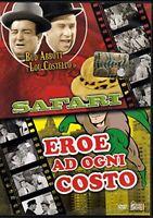 Safari - Eroe Ad Ogni Costo con Bud Abbott e Lou Costello - DVD DL006245
