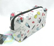 SANRIO Hello Kitty KAWAII Small Rectangle Square Pouch Zipper Bag Cosmetic Case