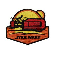 "Tatooine Sunset ""Star Wars"" Speeder Iron-On Patch Fan Apparel Accessory Applique"