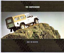 Land Rover Defender 1990-91 UK Market Sales Brochure 90 110 130