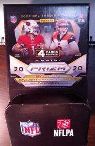 2020 Prizm Football EMPTY Gravity Feed Display Box - NO CARDS/ NO PACKS