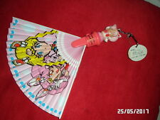 éventail fan sailor moon super S vintage !! rare !!! figure figurine puppet