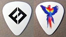 Pat Smear Foo Fighters 2017 Tour guitar pick black on White with Parrot