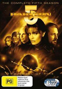 BABYLON 5 FIFTH SEASON (DVD,2004) - Region 4 - NEW+SEALED