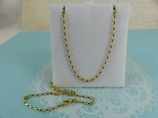 NEW 9ct 9carat Yellow Gold Belcher Chain, 22 Inch, 4grams