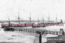 SF 77 - HMS Ganges & Pier, Shotley, Suffolk - 6x4 Photo