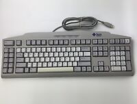 SUN MICROSYSTEMS Type 6 USB KEYBOARD N860-8706-T001 USED TESTED GOOD CONDITION