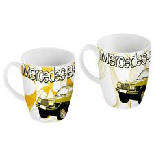 Mercedes-Benz Porzellan Becher Kaffeebecher Tassen 2er Set W123 C123 E-Klasse