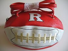 Rutgers Scarlet Knights New Crossbody Football Purse Handbag Licensed  w/ tags