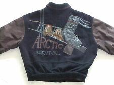 ICEBERG GIACCA COLLEGE Arctic Survival POLO NORD COMIC RETRO tg. : M - L TIP TOP