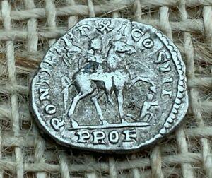 Caracalla AR Denarius AD 208 Very Fine