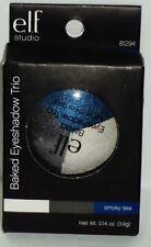 1 e.l.f. Studio Baked Eyeshadow TRIO SMOKEY SEA #81294 NIP
