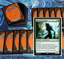mtg GREEN WEREWOLF DECK Magic the Gathering rare cards SOI silverfur partisan