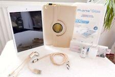 Apple iPad Mini 1 * F NEU + XXL EXTRAS GOLD * 16GB Weiss 7,9 Zoll * WLAN WIFI *