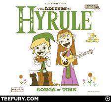 """The Legends of Hyrule"" Zelda Teefury Shirt - Men's 2XL"