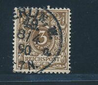 Deutsches Reich 1889,Mi. 45 aa gest., tadellos, gepr. Wiegand BPP, Mi. 85,-€