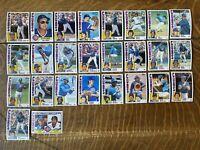 1984 CHICAGO CUBS Topps COMPLETE Baseball Team Set 26 Cards SANDBERG JENKINS