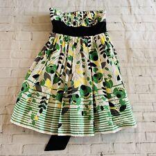 XOXO Strapless Multicoloreed Dress Size Medium