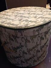 Vintage Wanamaker hat box, hatbox
