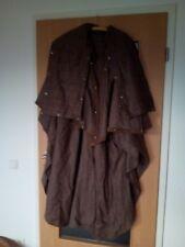 Damen Mantel, Damen Cape, in Kleppermantel Form, Gr.52, braun, Trachtenmantel