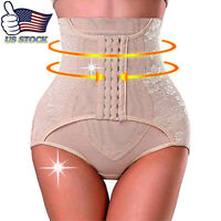 US Black Butt Lifter Shaper Waist Cincher Corset Tummy Control Body Panty S-3XL