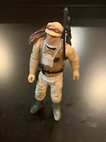Vintage LUKE SKYWALKER (Hoth) Star Wars Action Figure 1980 Hong Kong - COMPLETE