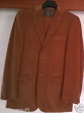 ANGELO LITRICO Herrenanzug Cordanzug Cord Anzug Suit - Braun - Gr. 98 -NEUWERTIG