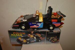Car Of Police A Pile Police Radar Car Sound Mermaid And Lumiere New 35 CM