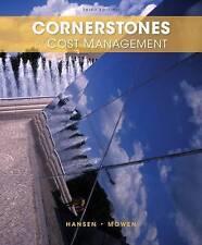 Cornerstones of Cost Management 3rd by Don R. Hansen , Mowen 3e