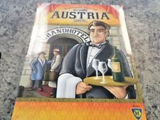 The Grand Austria Hotel - Mayfair Games Board Game New!