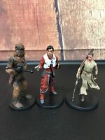 Disney Store Lot Of 3 Star Wars Collectible Action Figures