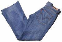 LEVI'S Womens 529 Jeans W30 L30 Blue Cotton Bootcut  JA11